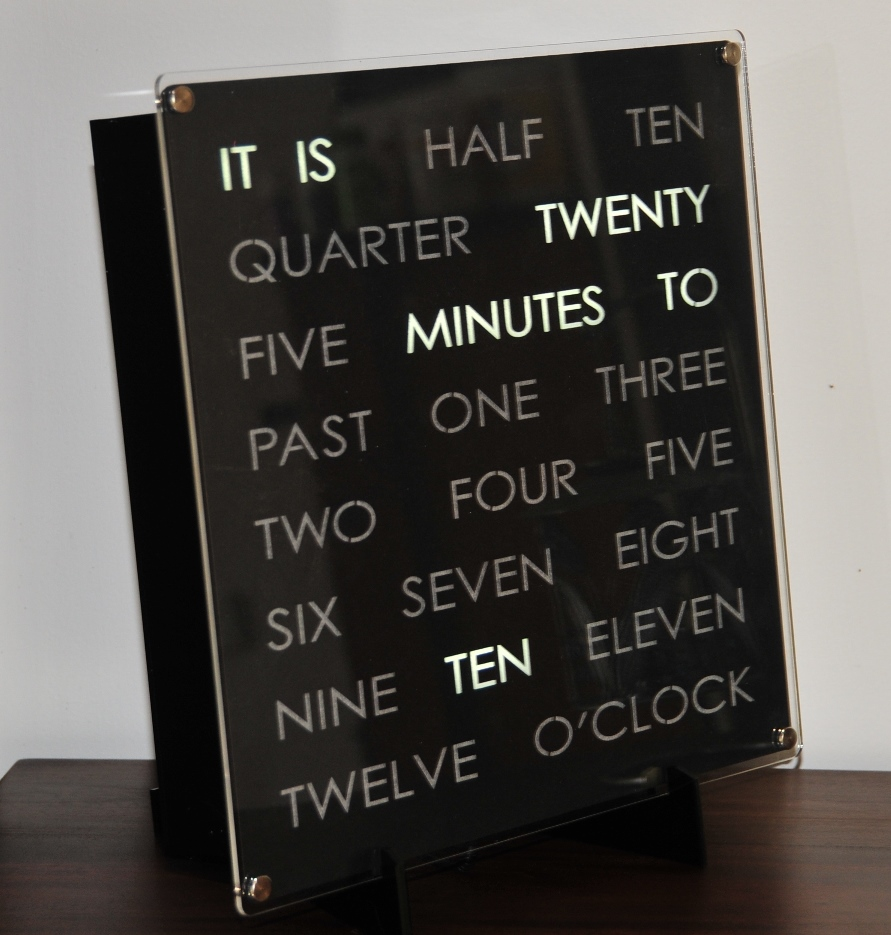 Nice 30cm WordClock Awesome Design