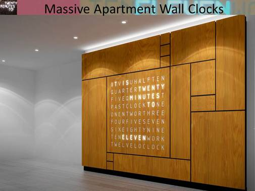 Apartment Wall Clock Controller Gallery